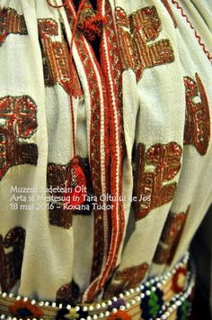 Folk Embroidery, Romania, Costume, Country, Blouse, Rural Area, Costumes, Blouses, Country Music