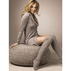 """Doutzen Kroes """"Repeat"""" 2010/2011 Campaign ❤ liked on Polyvore"""
