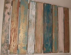 Barnwood Wall Art Rustic Decor Reclaimed Wood Sculpture Shabby Chic Modern