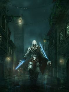 Ezio as a Sith Lord. Best combo ever. (Assasith's Creed by JJcanvas on deviantART)