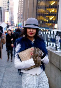 Street Style From New York Fashion Week, Day 2 | StyleCaster