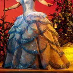 Pink Goes Good With Green!: Wicked: Glinda's Bubble Gown: UK/European version