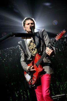 Matt Bellamy (oh god his guitar I can't even deal)