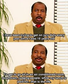 Stanley Hudson / The Office / #TheOffice
