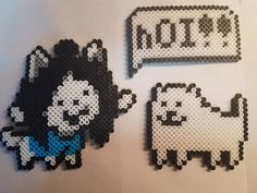 Here is the set! Individual pieces will be posted later!   #etsy shop: Undertale - Temmie! Village Set  https://etsy.me/2pMrqgI   #toys #children #undertale #temmie #bob #hoi #pixelart #8bit #retro #gaming #pixelart #perler #hama #artkal #etsyseller #handmade #giftset