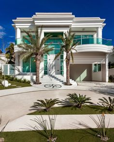costiere Luxury homes Villa Design, Dream House Exterior, Dream House Plans, House Front Design, Modern House Design, Dream Home Design, My Dream Home, Style At Home, Dream Mansion