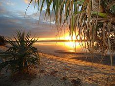 Sunrise or Sunset? Does not matter. Australia Photos, Brisbane Australia, Stradbroke Island, Trip Planning, Adventure Travel, Places To Go, Sunrise, Beautiful Places, Around The Worlds