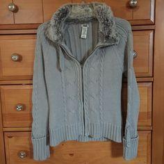 Zip Up Sweater Jacket