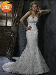 Sweatheart Wedding dress