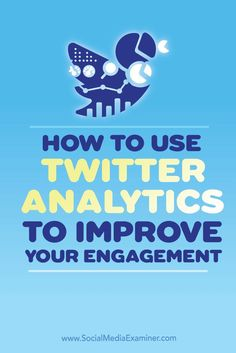 Do you need better results from your Twitter marketing?  The data in Twitter Analytics reports can help you identify the content that resonates with your audience, so you can build a more active following.  In this article youll discover four ways to use