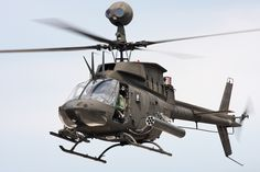 bell oh-58 kiowa helicopter