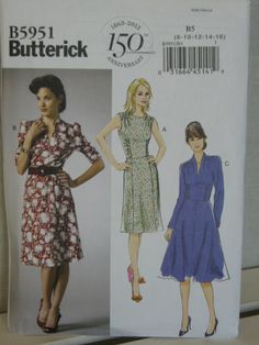 #Butterick I've loved this pattern since seeing it on a blog ... I shall add this to my list, may have to go into next year ... #vintagestyle #retrostyle #vintagefashion #retrofashion