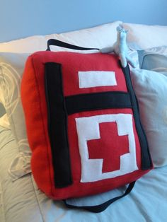 Left4Dead First-Aid Pillow by =FoxyGaby on deviantART
