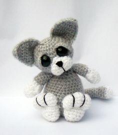 Kitten Cat Amigurumi Crochet Pattern PDF  by PatchworkMoose