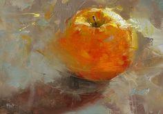 "Joshua Flint, Circulation, oil on wood panel 5"" x 7"""