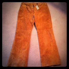 Lush Suede Jeans NWT, beautiful chestnut color size 13/14. True to size. Express Jeans Flare & Wide Leg