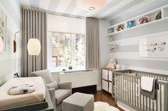 Babyzimmer Wandfarben Grau Hell Weiß