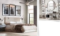 Clean lines, old but new: Rooms | Restoration Hardware