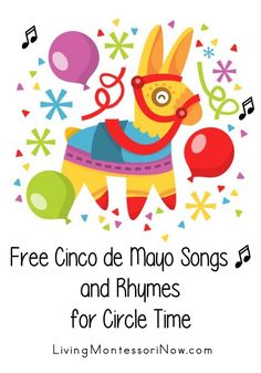 Free Cinco de Mayo Songs and Rhymes for Circle Time - Mattie Christian Preschool Songs, Preschool Crafts, Preschool Kindergarten, Preschool Winter, Preschool Themes, Preschool Learning, Early Learning, Kids Crafts, Songs For Toddlers