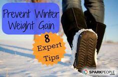 8 Ways to Ward Off Winter Weight Gain via @SparkPeople
