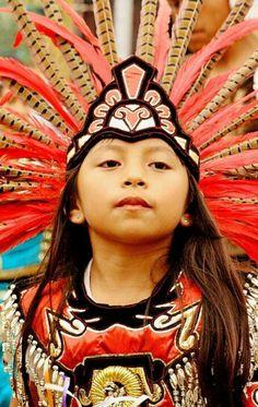 Beautiful Mayan child.