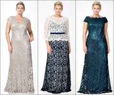 mother of the bride dresses tea length plus size - Google Search