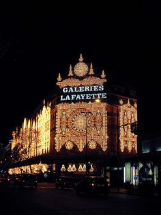 Galleries Lafayette....shopping!!!