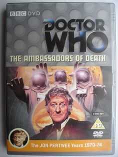 """The Ambassadors of Death"" is an adventure of the seventh season of ""Doctor Who"" classic series, which aired in 1970 featuring the Third Doctor and Liz Shaw. It follows ""The Silurians"" and it's a seven parts adventure written by David Whitaker and directed by Michael Ferguson. Image of the British DVD. Click to read a review of this adventure!"