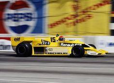 1978 GP USA (Long Beach) Renault RS01 (Jean Pierre Jabouille)