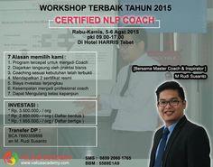 NLP Coach Workshop in jakarta