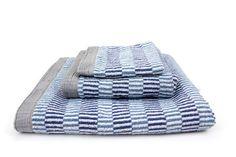 Bird Nest Towel, Blue