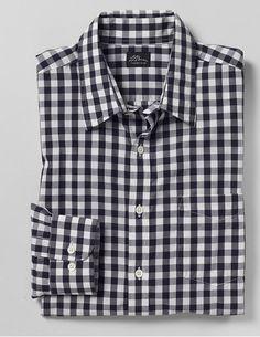 love a black gingham shirt