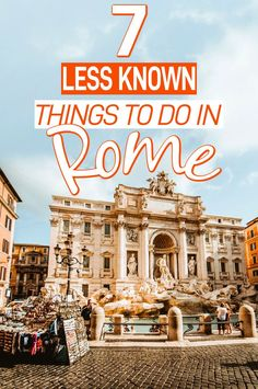 Rome Italy attractions you NEED to see. Here are 7 secret treasures waiting to b… Rome Italy attractions you NEED Rome Travel, Europe Travel Tips, Italy Travel, Travel Guides, Travel Destinations, Backpacking Europe, Traveling Europe, Shopping Travel, Spain Travel