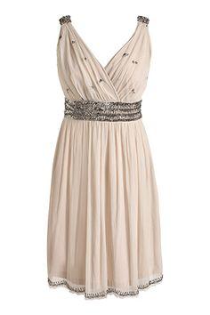 Glam Soft-Tüll-Kleid