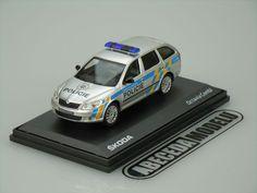 Škoda Octavia Combi (facelift) Policie ČR Abrex 1/43
