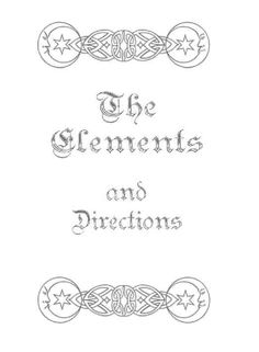 elements title page~ https://www.facebook.com/thesoulfuleclectic