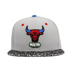 312ef7cff92 Chicago-Bulls-Nba-Gray-Multi-Colors-Custom-Snapback-New-Era-9fifty-950
