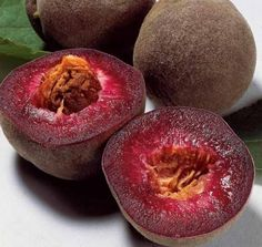 Top 10 Strange, Rare and Unusual Peaches Anyone for a blood peach? I've heard of a blood orange, but never a blood peach!