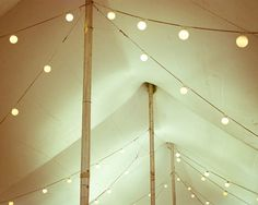 """Circus tent photograph - Carnival photography  - string of lights cream beige neutral decor art wedding celebration print """"Circus Tent"""""""