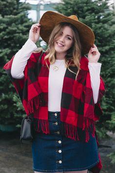 Button Up Denim Skirt  allGLAMMEDup