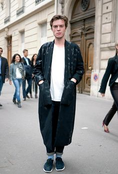 Street style and fashion trends - Lelook | Paris, oct. 2013 #menstyle