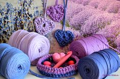 Lavender Easter with the wonderful Lavender Colors of Hoooked Zpagetti Lavender Color, Coin, Merino Wool Blanket, Easter, Colors, Lavender Colour, Easter Activities, Colour, Color