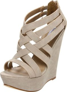 Oooh! We love the idea of the stud trend on a nude shoe!