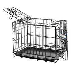 Precision Pet Great Crate Double Door Dog Crate >>> Click image for more details.