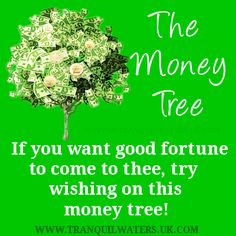 Lucky Buddha - Lucky ladybird - Lucky penny - Money tree - Luck - Wishes - Image quotes - Sayings - Good luck - wishes Tree Quotes, Angel Quotes, Good Luck Wishes, Prosperity Affirmations, Lucky Penny, Money Trees, Wishes Images, Money Quotes, Make Money Fast