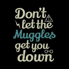 Muggles ....those people who have never visited the world of harry potter ....