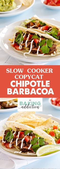 If you love Chipotle's barbacoa, you have to try this simple and delicious slow cooker recipe. It's perfect for tacos, nachos, burritos and so much more.