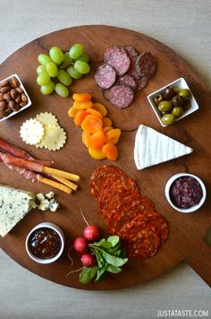 The Art of the Charcuterie Plate #tips justataste.com