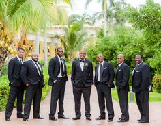 Groomsmen in Mexico DeanSandersonWeddings.com