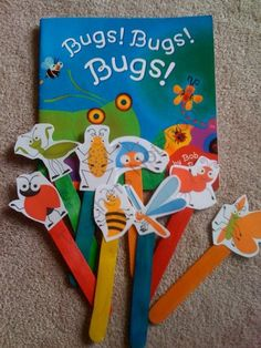 bugs puppet sticks